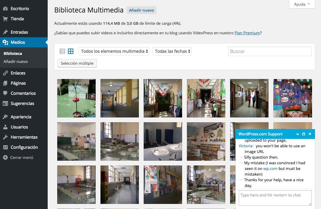 Biblioteca Multimedia ‹ AFA La Paloma — WordPress