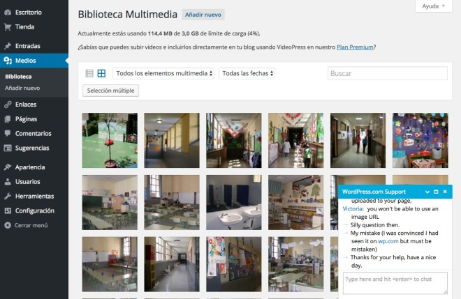Biblioteca Multimedia ‹ AFA La Paloma — WordPress