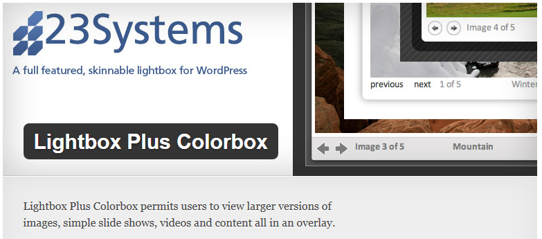 Vida y muerte de un plugin de WordPress: Lightbox Plus Colorbox by Dan Zappone