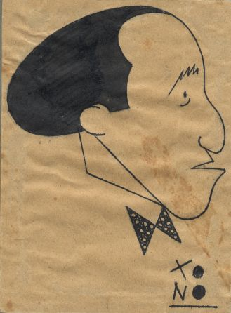 Caricatura de mi Abuelo hecha por el humorista TONO